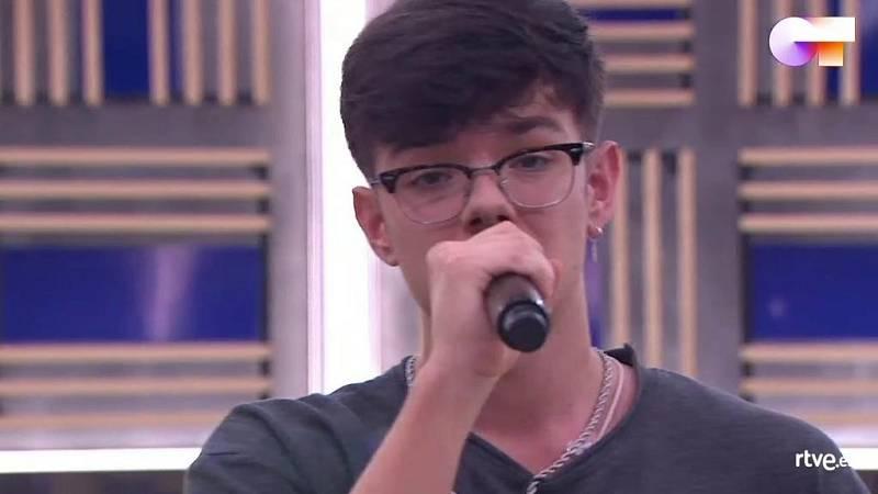 """Flavio canta """"Human"""", de Rag¿n Bone Man, en el primer pase de micros de la Gala 10 de Operación Triunfo 2020"""