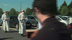 A misa, sin bajarse del coche en Francia