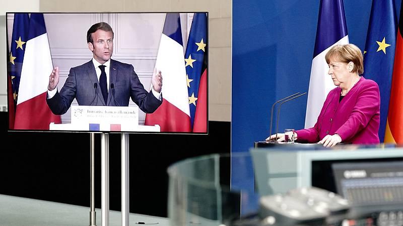 Merkel y Macron proponen un fondo de reconstrucción 500.000 millones de euros