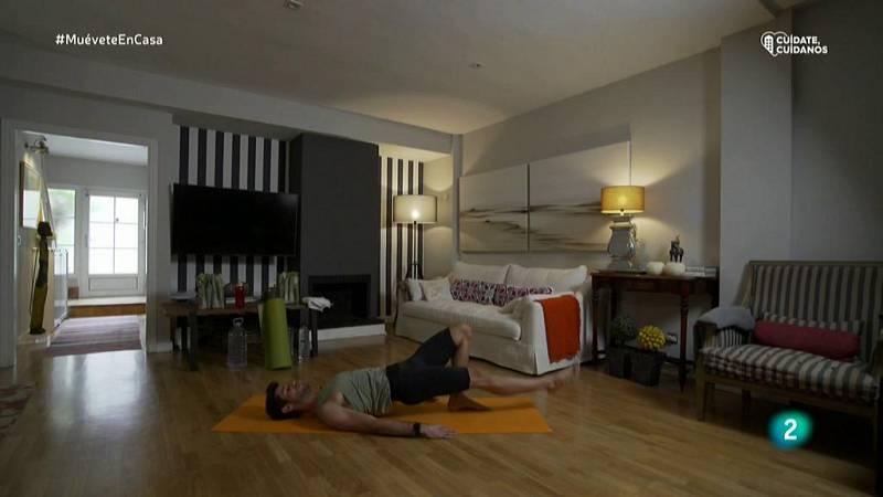 Muévete en casa - Bloque 2: Activando grupos musculares, como glúteos e isquios