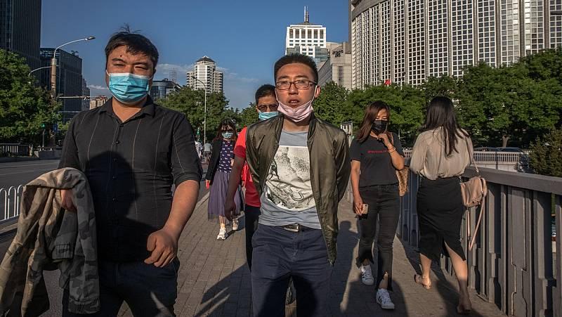 Pekín permite salir a la calle sin mascarilla a pocos días del inicio de la Asamblea Nacional Popular