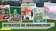 Carlos Carmonamedina: el ilustrador de un Washington confinado