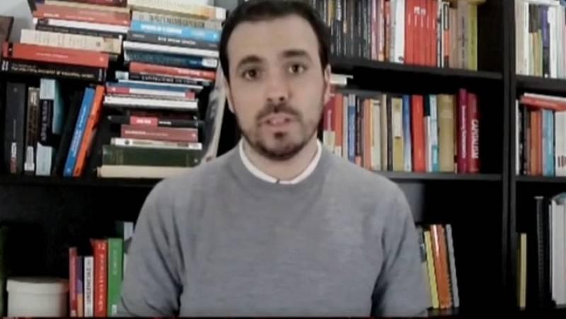 """Garzón, sobre los escraches: """"Hay una derecha mediática que está señalando a miembros del Gobierno y a científicos"""""""