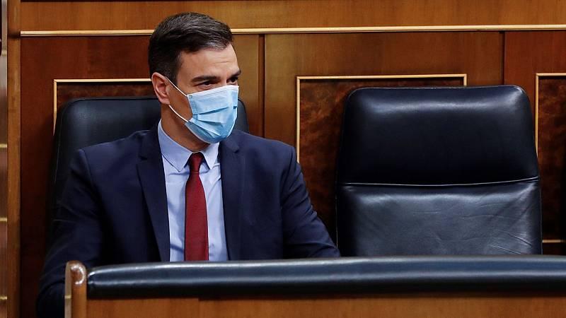 """Sánchez: """"Es necesario garantizar el plan de desescalada, dejando el menor espacio posible a rebrotes"""""""