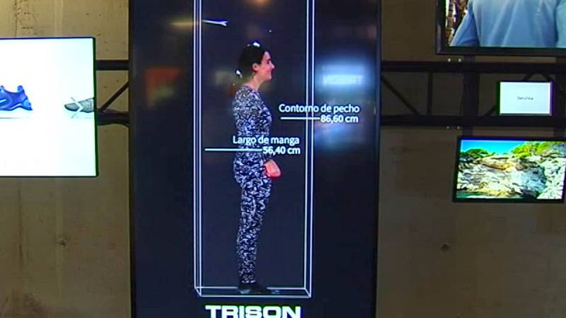 Un avatar permitirá probarse la ropa en las tiendas virtualmente