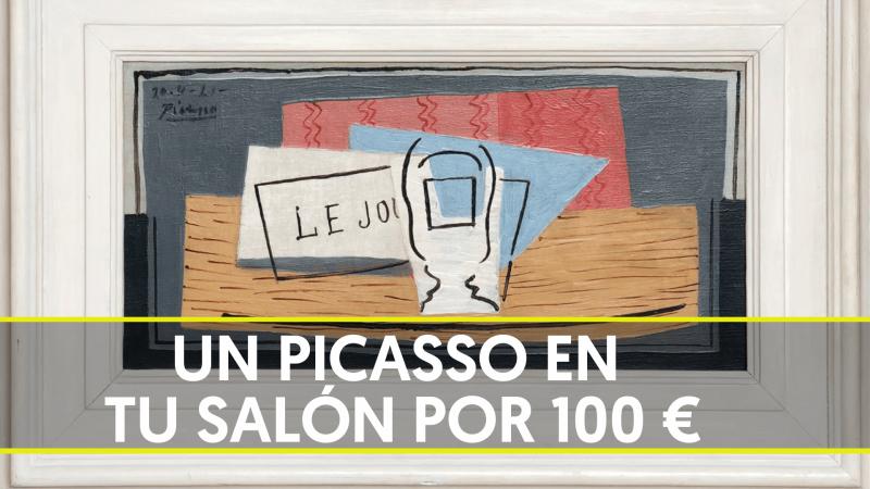 Sorteo benéfico de un Picasso por 100 euros