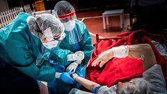 Ligero repunte de los fallecidos diarios por coronavirus hasta los 95
