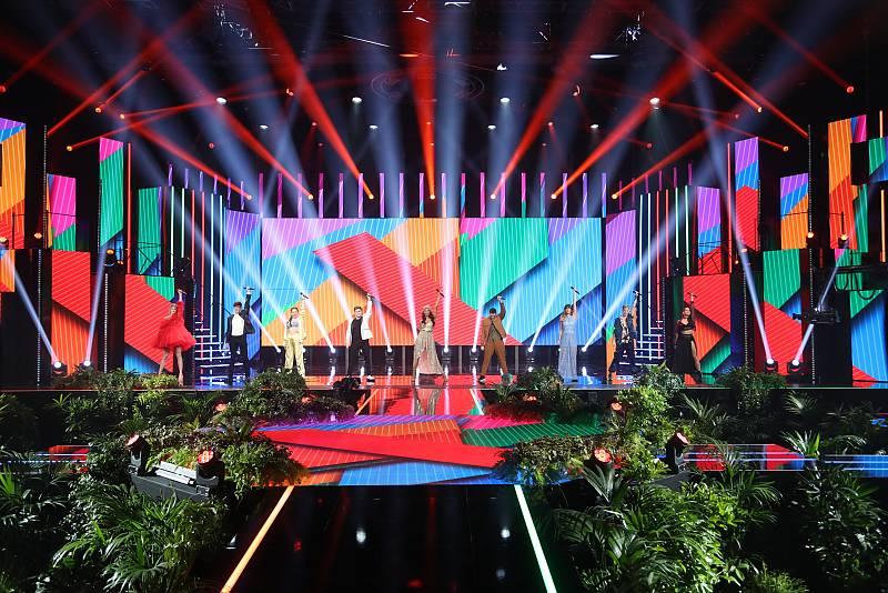 "OT 2020 canta ""Sonrisa"", de Ana Torroja, en la Gala 10 de Operación Triunfo 2020"