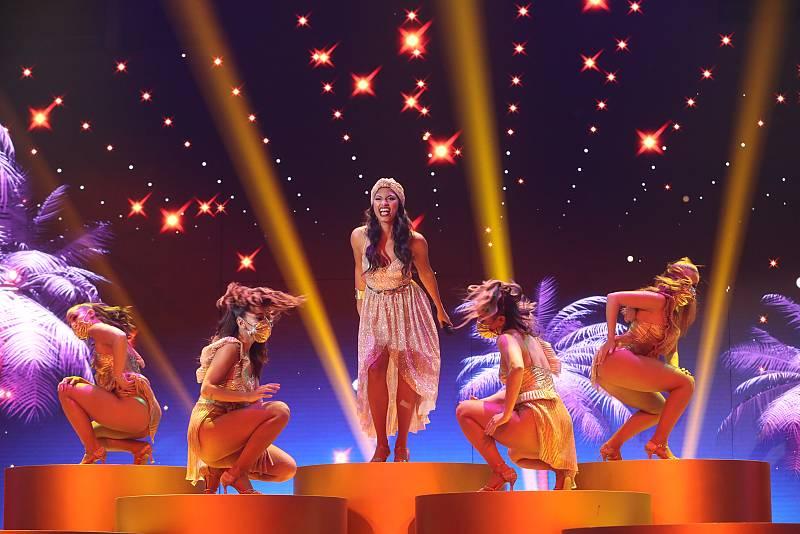 """Nia canta """"Quimbara"""", de Celia Cruz en la versión de Jennifer Lopez, en la Gala 10 de Operación Triunfo 2020"""
