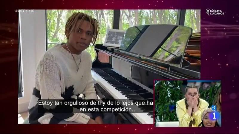 Kailand Morris, hijo de Stevie Wonder, le envía un mensaje a Eva