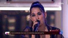 OT 2020 - Anaju canta una canción a Ivan en El Chat 10