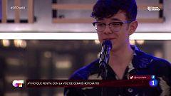 OT 2020 - Flavio dedica una canción a Pablo Wessling en El Chat 10