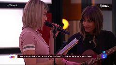 OT 2020 - Samantha y Maialen cantan y recitan para sus compañeros en El Chat 10