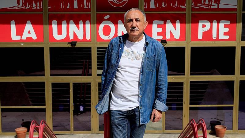 """Álvarez (UGT): """"No se puede estar bailando en este baile que nos marque la vida política, que tiene turbulencias y poca estabilidad"""""""