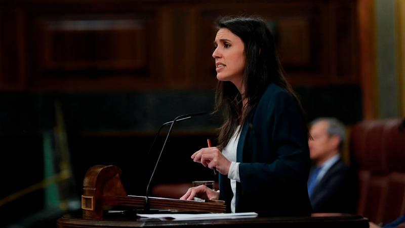 Irene Montero: ''Cuando una acepta ser ministra, se viene llorada de casa''