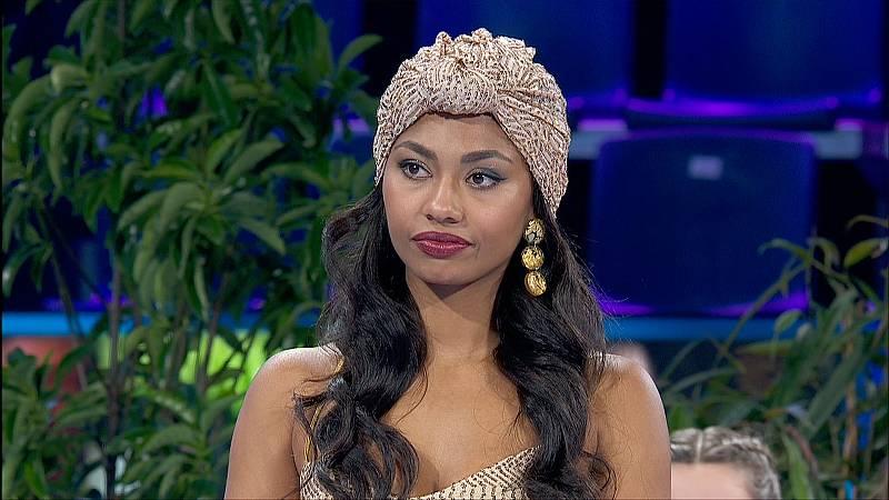 Nina valora la actuación de Nia en la Gala 10 de Operación Triunfo