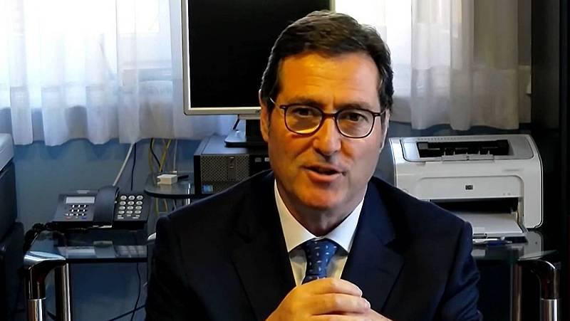 """Garamendi (CEOE), sobre el acuerdo del Gobierno con Bildu: """"Es una irresponsabilidad romper la confianza"""""""