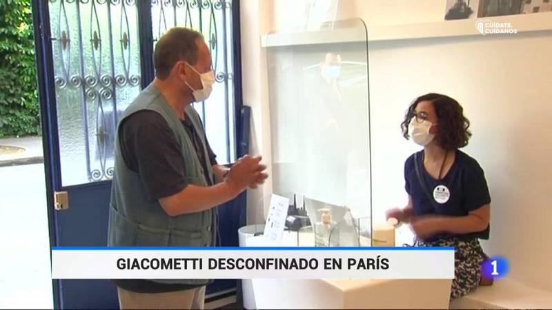 Reabre sus puertas el Museo Giacometti de París