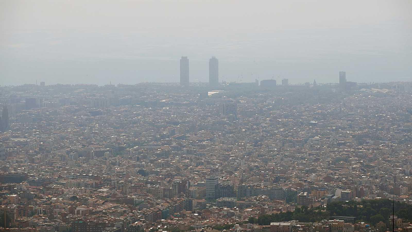 Barcelona supera el los límites de polución establecidos por la UE