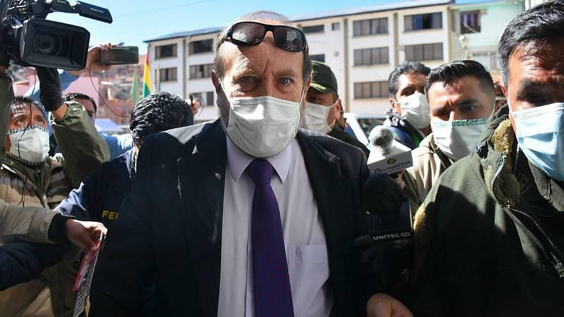 Detenido el ministro de Sanidad de Bolivia