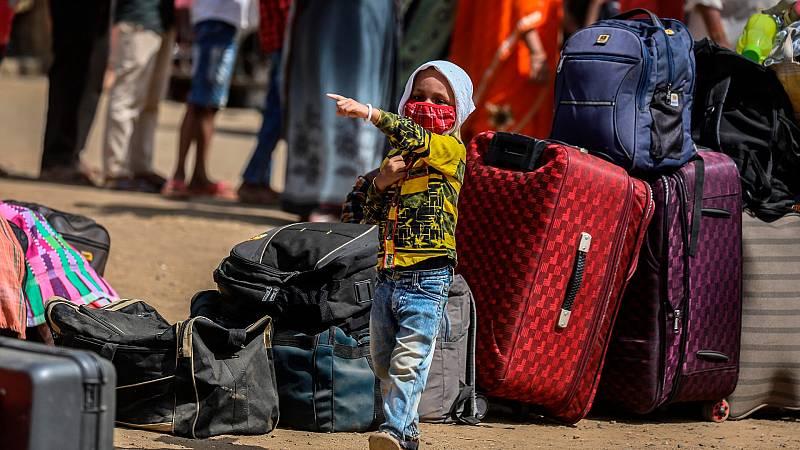 El ciclón Amphan obliga a desplazarse a más de 3 millones de personas en la India