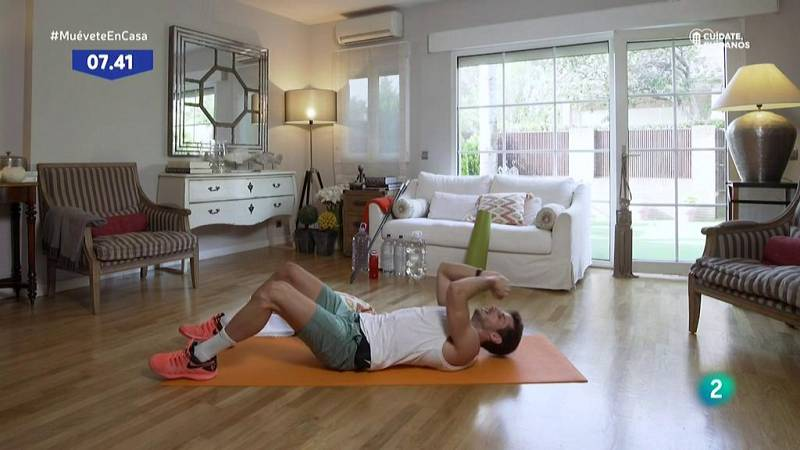 Muévete en casa - Circuito abdominal