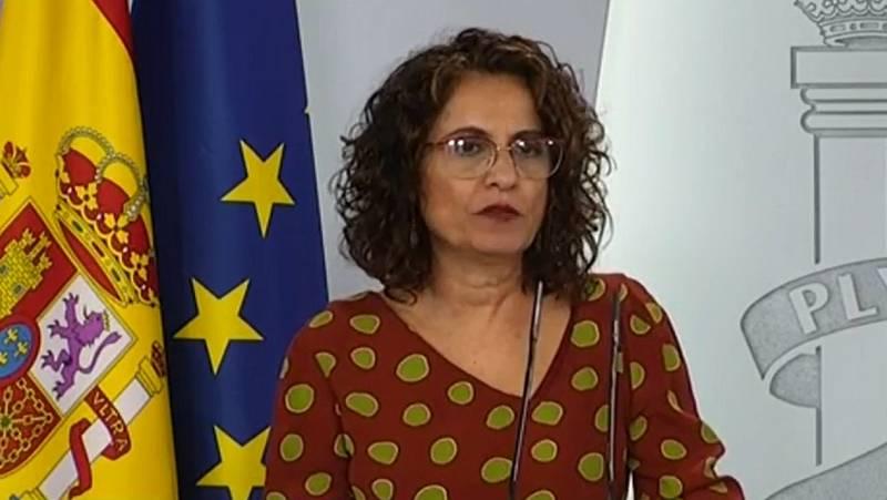"""Montero señala las """"diferencias abismales"""" del PSOE con Bildu y dice que el acuerdo busca """"preservar la salud de los españoles"""""""