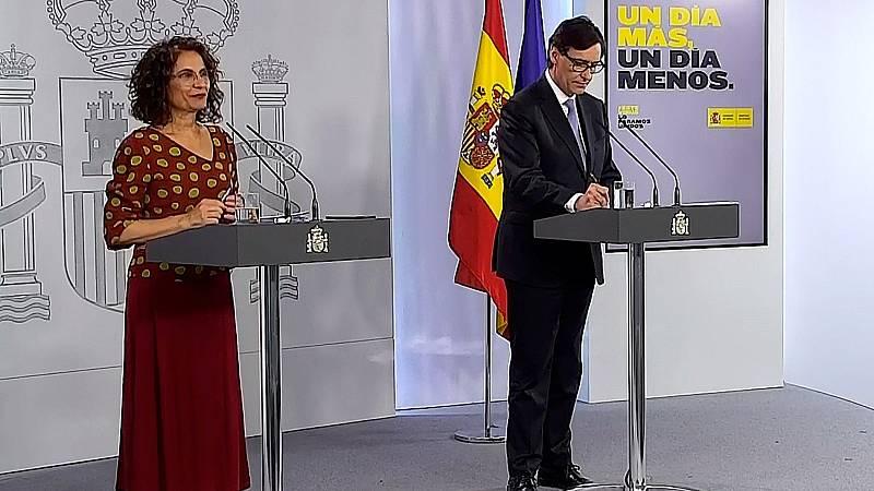 """Montero asegura que hay """"diálogo fluido"""" con el presidente de la patronal y que entiende su """"sorpresa"""" ante el acuerdo con Bildu"""
