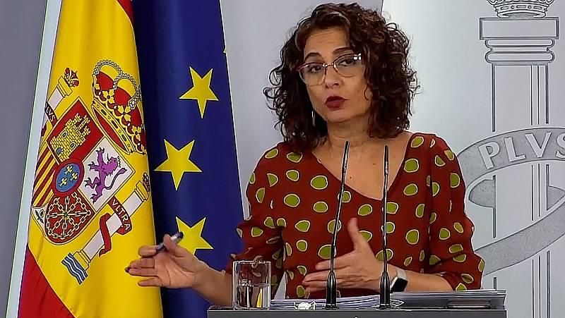 """Montero: """"La intención del Gobierno es la negociación de las cuestiones laborales en el marco del diálogo social"""""""