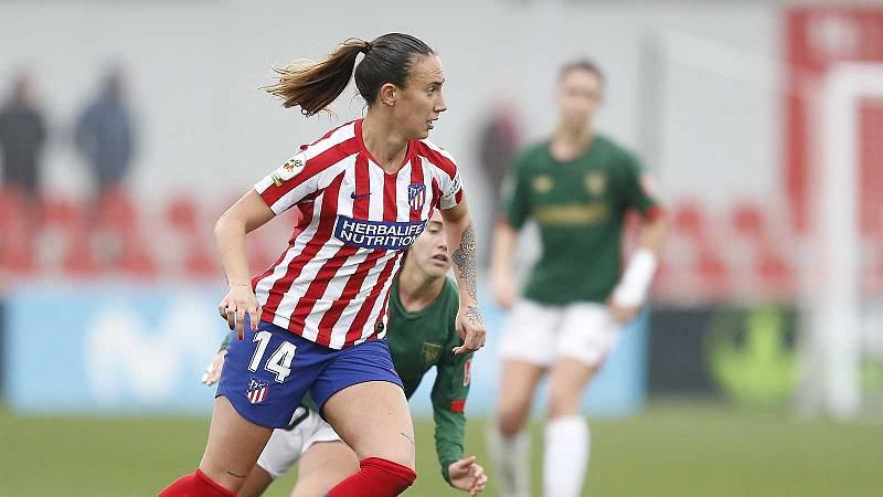 Vídeo: Virginia Torrecilla, jugadora del Atlético de Madrid, operada con éxito de un tumor en la cabeza