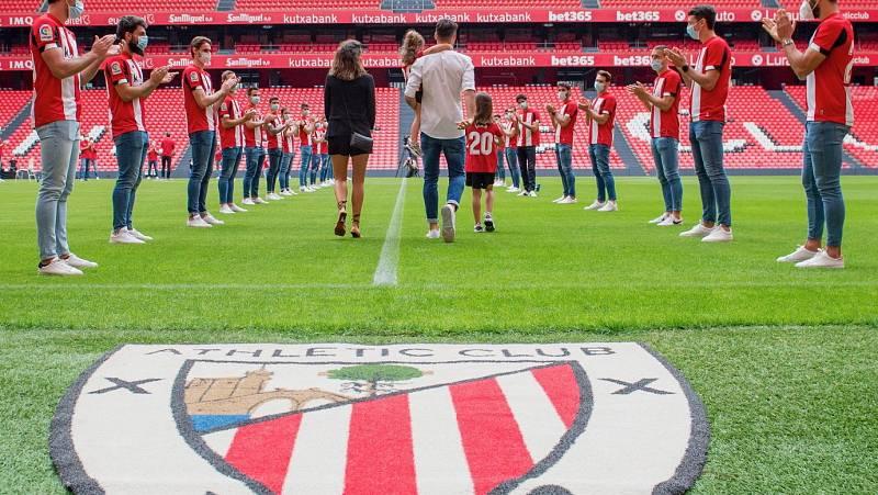 Vídeo: Aduriz se despide del Athletic de Bilbao en San Mamés
