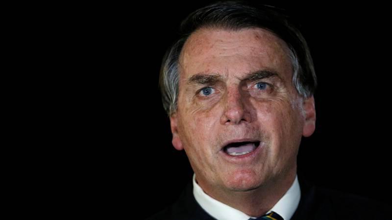 Un vídeo con insultos compromete al presidente de Brasil Jair Bolsonaro