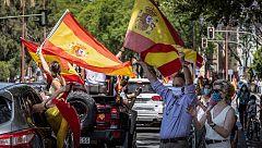 """Sánchez, sobre las manifestaciones de Vox: """"Son libres de hacerlo pero que respeten los criterios sanitarios para evitar el contagio"""""""