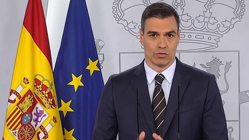 Sánchez anuncia que habrá temporada turística y la aprobación la semana que viene del ingreso mínimo vital