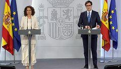 Especial informativo - Comparecencia de la ministra portavoz y del ministro de Sanidad - 24/05/20