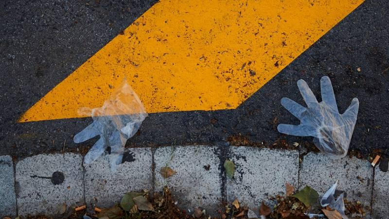Los residuos del coronavirus: ¿Dónde se tiran los guantes y las mascarillas?