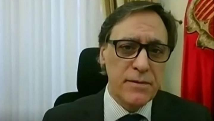 """Carbayo (PP), alcalde de Salamanca: """"Ha habido una voluntad común desde el principio. Desde la unidad será como salgamos de esta crisis"""""""