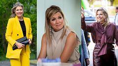 Corazón y tendencias - Máxima de Holanda vuelve a recurrir a las firmas de Inditex