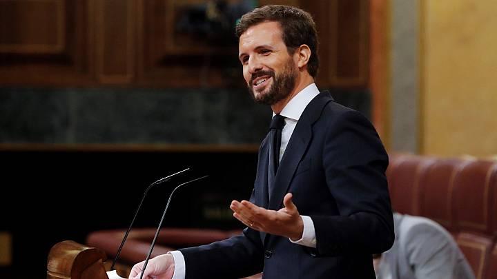 """Casado: """"Sánchez ha cambiado los pactos de la Moncloa por los pactos de Estella"""""""