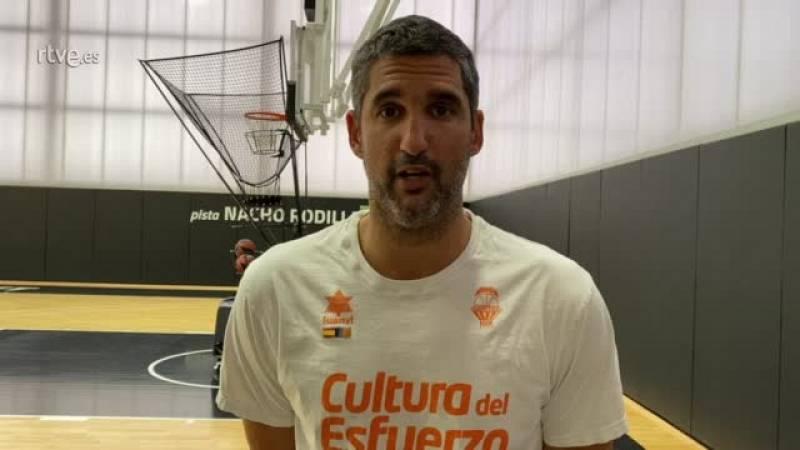 """Rubén Burgos: """"Laura Gil se adapta perfectamente a los valores del Valencia"""""""