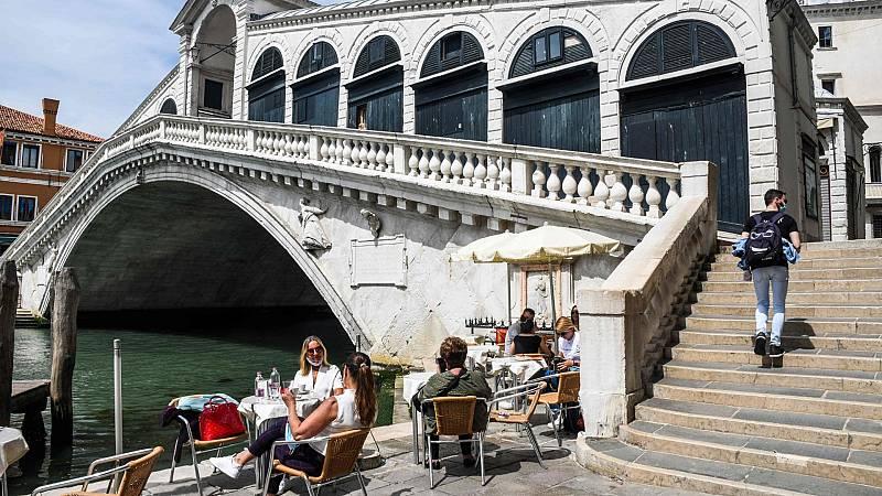 """Italia advierte del riesgo de rebrote: """"Basta poco para que todo vuelva a parar"""""""