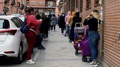 La crisis sanitaria complica aún más la situación de las personas vulnerables