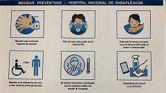 Las medidas de la desescalada en el Hospital Nacional de Parapléjicos de Toledo