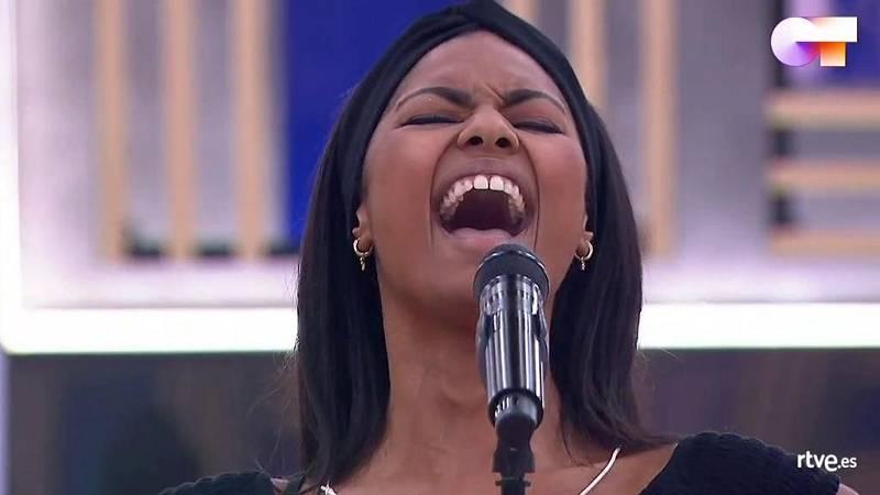 """Nia canta """"Halo"""", de Beyoncé, en el segundo pase de micros de la Gala 11 de Operación Triunfo 2020"""