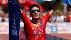 """Gómez Noya: """"Estoy volviendo a los entrenamientos sin mucho estrés"""""""