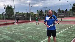 José Luis Villuendas explica el regreso del tenis a las escuelas