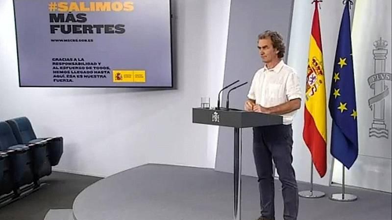 Especial informativo - Coronavirus. Comparecencia de Fernando Simón - 25/05/20 - ver ahora