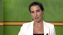 """Rocío Monasterio: """"Parece sospechoso que cuando se pone en duda la información del Gobierno, se aparta a quien dirige la investigación"""""""