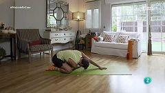 Muévete en casa - Planchas con trabajo de abdomen y gluteos