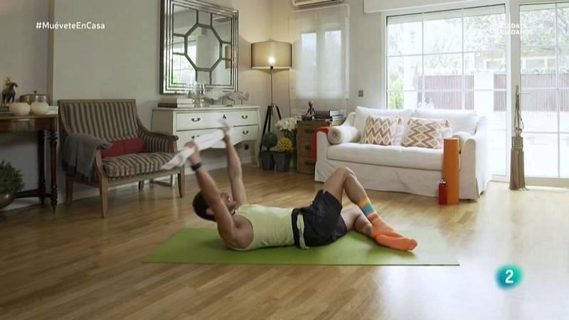 Muévete en casa - Trabajo de abdomen con sit-ups y crunches